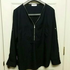 Calvin Klein long sleeve XL blouse